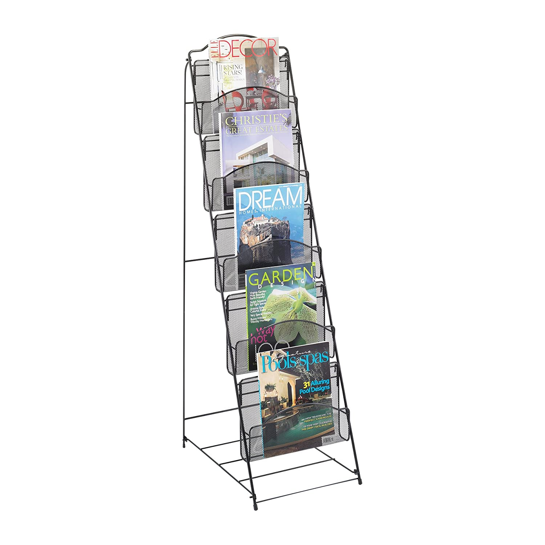 Home Office Magazine Rack Book Floor Shelf Storage Stand