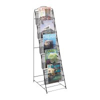 Home Office Magazine Rack Book Floor Shelf Storage Stand