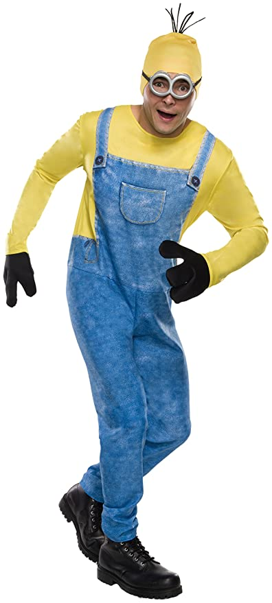 Rubie's Costume Co Men's Minion Kevin Costume, Multi, X-Large