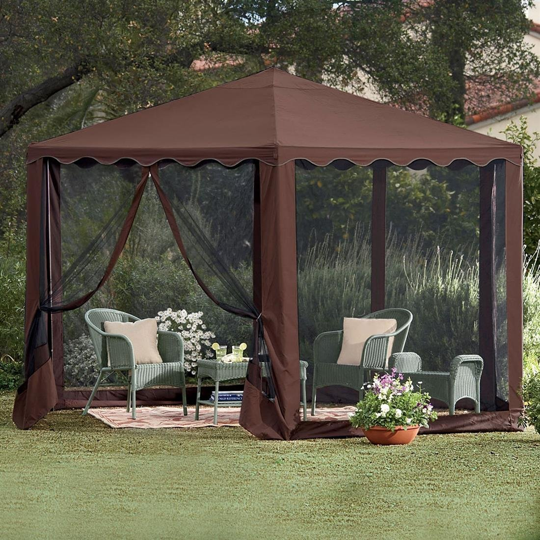 Outdoor Chair With Canopy Gazebo Canopy Patio Tent Outdoor Furniture Deck Frame