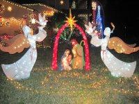 Nativity Scene Lighted Yard Displays | Christmas Wikii