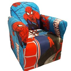 Saucer Chair For Kids Antique Cane Dining Room Chairs Spiderman Furniture - Tktb