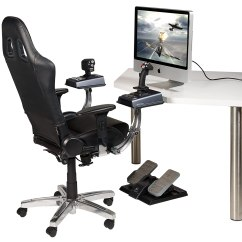 Office Chair Joystick Mount Evenflo Quatore 4 In 1 High Deep Lake Teal Decent Computer Chairs For Use Starcitizen You Re Better Off Getting A Cheaper More Comfortable And Making Some Custom Arms To Attach It