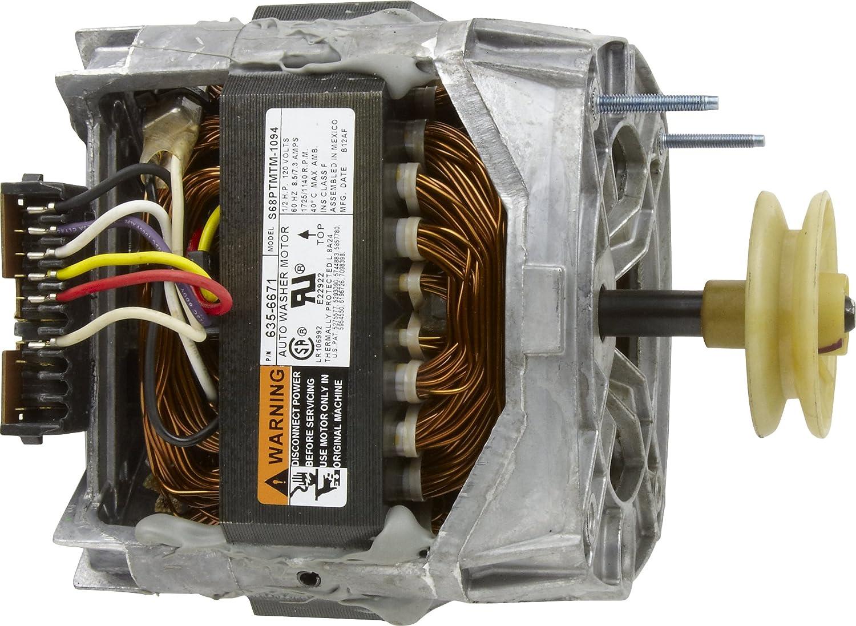 Wiring A Salvaged Washing Machine Motor Appliances Handyman Wire