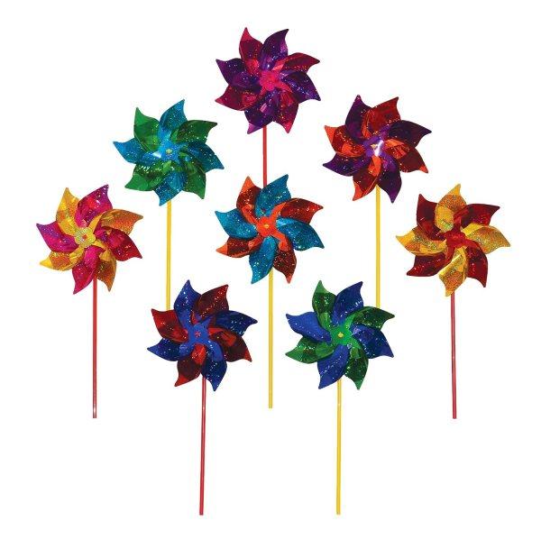 Pinwheel Wind Spinner Garden Outdoor Yard Decor Colorful