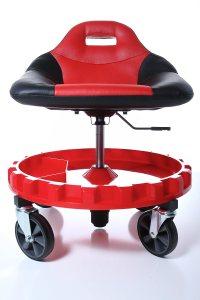 Mechanics Chair Seat Tools Work Stool Garage Creeper Tray ...