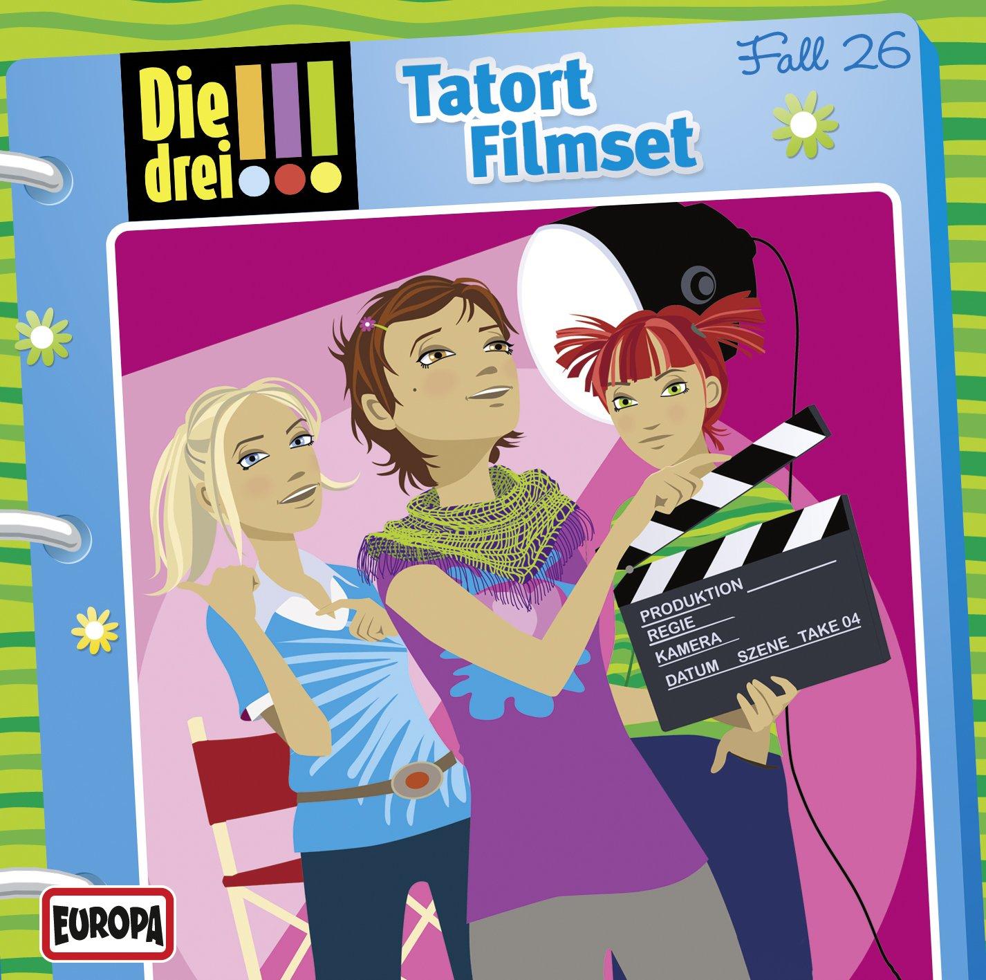 Die drei !!! (26) Tatort Filmset (Europa)
