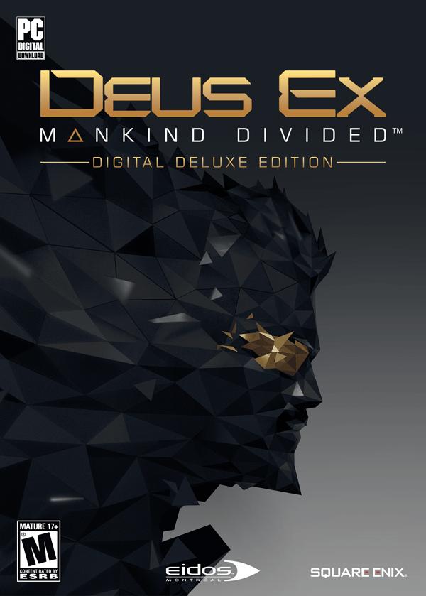 Deus Ex: Mankind Divided - Digital Deluxe [Online Game Code]