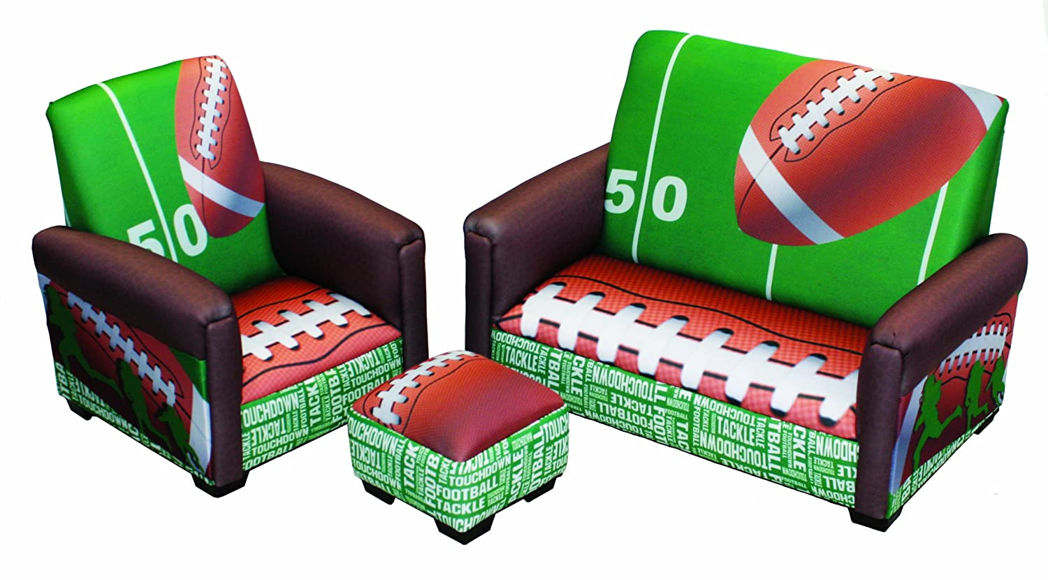 Newco Kids Football 50 Yard Line Toddler 3 Piece Set