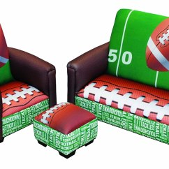 Soccer Team Chairs White Wicker Outdoor Football Furniture Totally Kids Bedrooms
