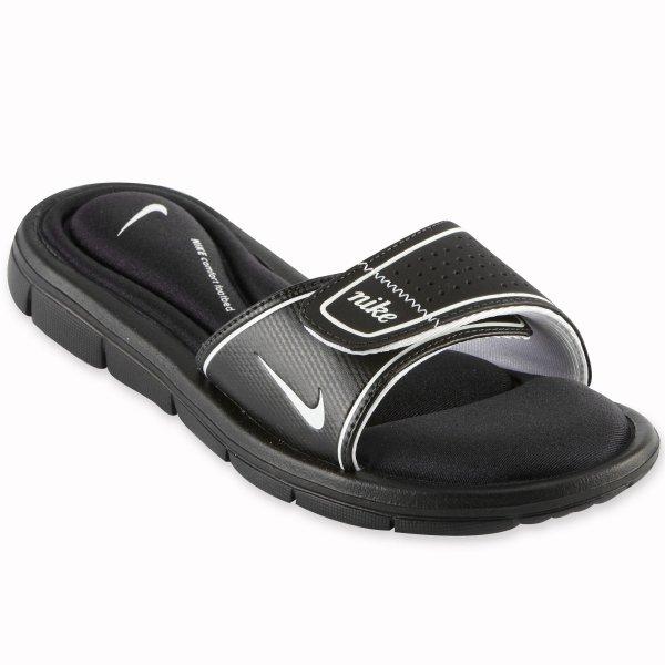 Galleon - Nike Comfort Slide Women' Sandals 7 Black White