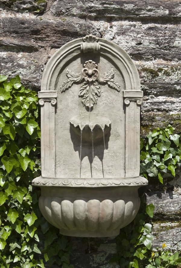 Outdoor Wall-mounted Fountains Archives Fountain