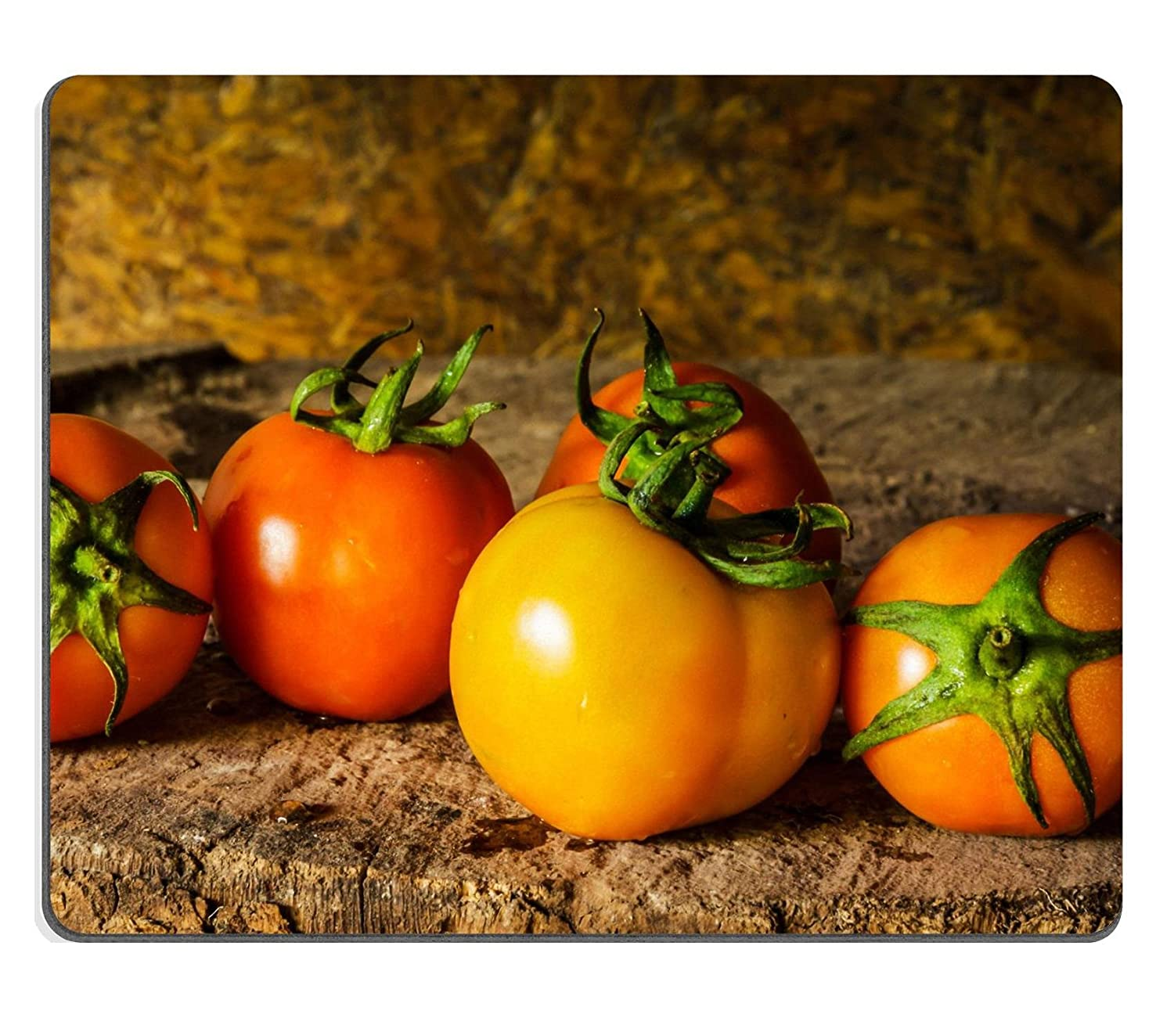 Mousepads Still life art photography with tomatoes on the timber