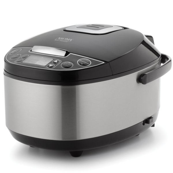 Aroma Professional 20-cup Cooked 10-cup Uncooked Rice Cooker Food Steame