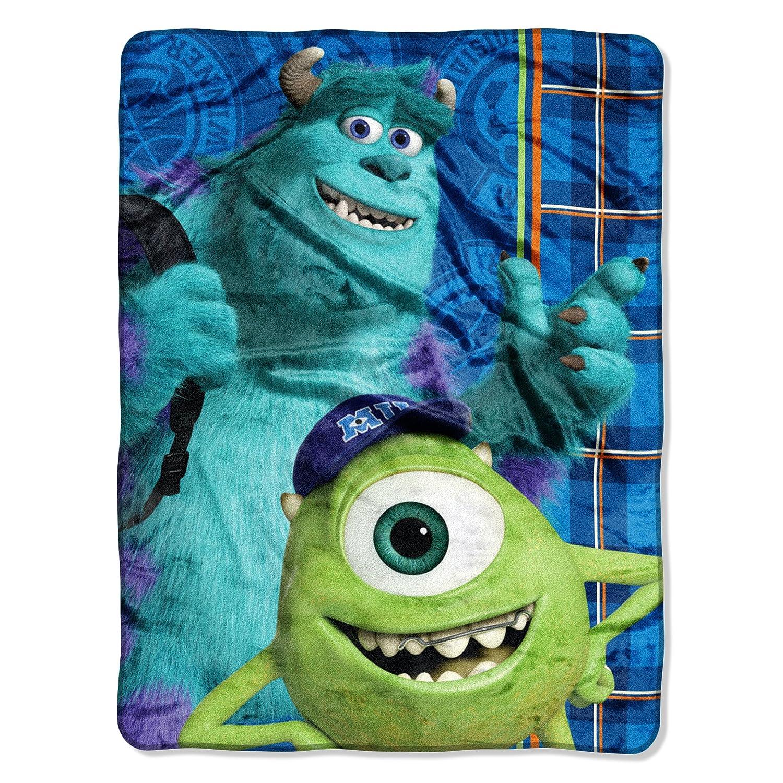 Disney's Monsters University, Greek Geeks Micro Raschel Blanket