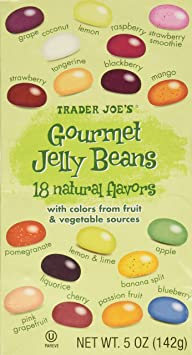 Trader Joe's Gourmet Jelly Beans 5 Oz