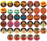 Two Rivers Luxury Sampler Pack, Single-Cup Coffee for Keurig Brewers, 40 Count