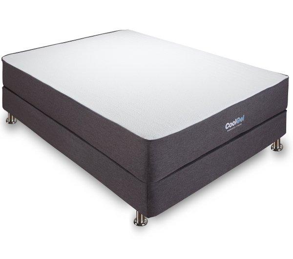 Classic Brands 10.5 Cool Gel Ventilated Memory Foam Mattress Queen