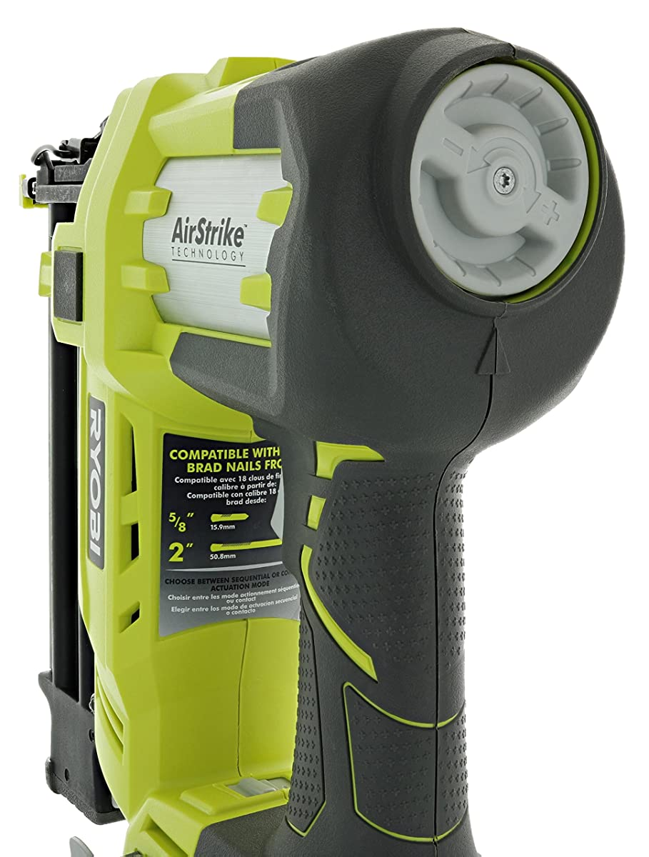 Ryobi Airstrike Nailer Flashing Light
