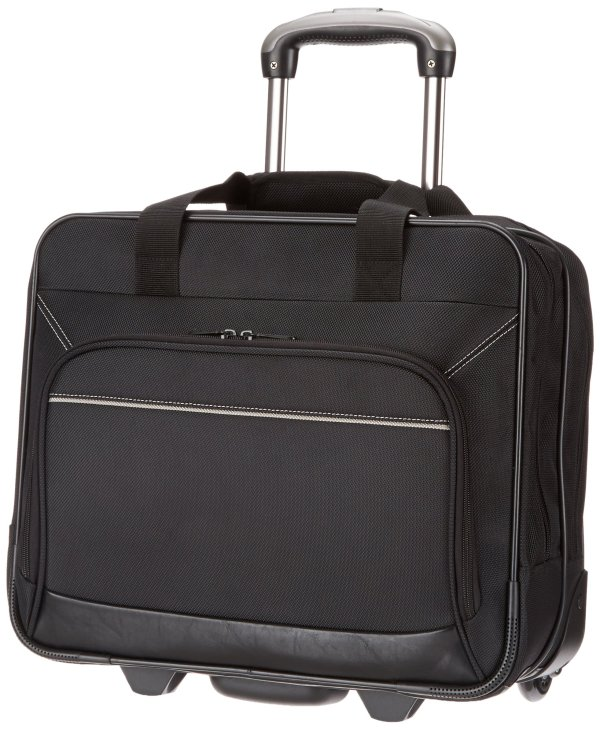 Rolling Laptop Case Lightweight Sturdy Bag Wheel Storage