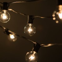 100 Foot String Patio Garden Lights Outside Vintage Bulbs ...