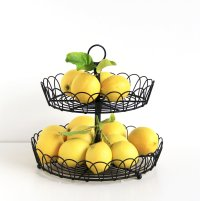2 tier fruit basket - deals on 1001 Blocks