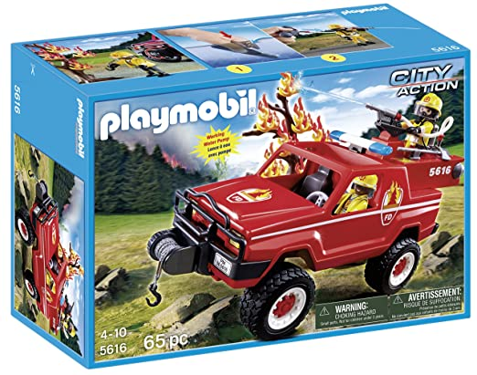 PLAYMOBIL Fire Terrain Truck