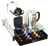 DecoBros Coffee Pod Pack Storage Glass Drawer Holder ...