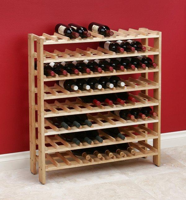 Classics Wooden Wine Racks Plans Furniture Holder 40 Bottle Crates Cabinet Stack