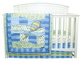 Dr. Seuss Oh The Places You'll Go! Baby Bedding - Blue 3pc