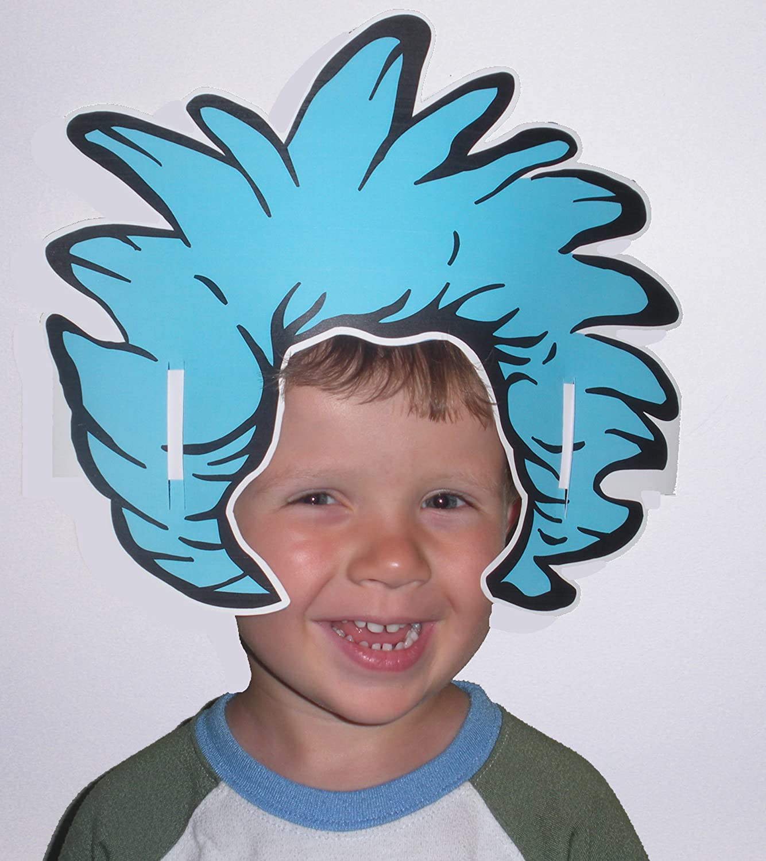 Eureka Dr Seuss Thing Hair Wearable Hats 32 Hats Approx