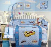 Race Car Crib Bedding - TKTB