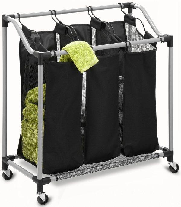 Heavy Duty Laundry Hamper Sorter Basket Elite Storage