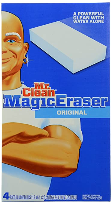 Mr. Clean Magic Eraser, Original, 4 Count