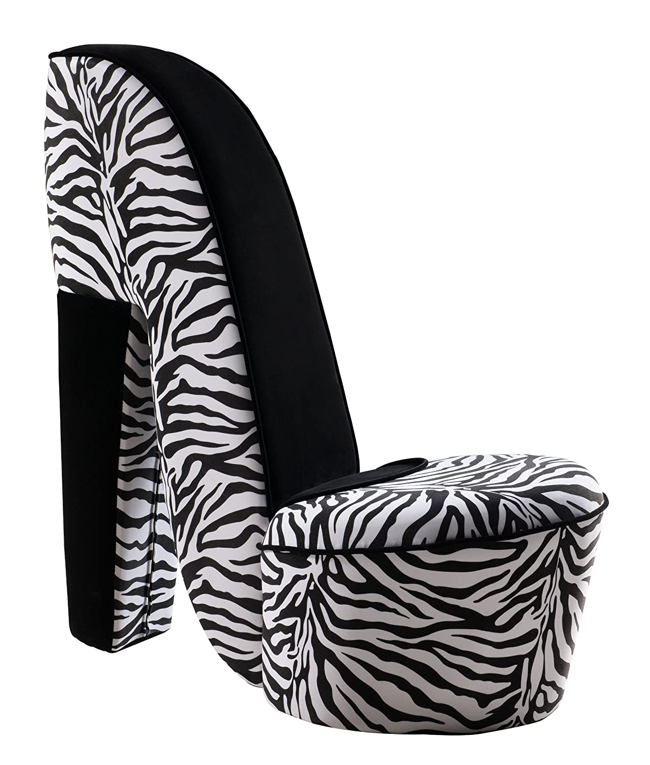 high heel chair cheap best fabric to cover kitchen chairs zebra shoe 28 images brand