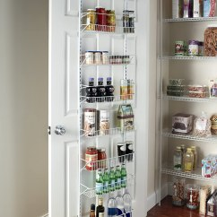 Kitchen Pantry Storage Remodel Pictures Wall Rack Closet Organizer Adjustable Floating