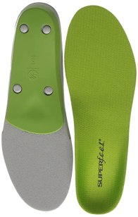 Superfeet Premium Shoe Insoles, Green