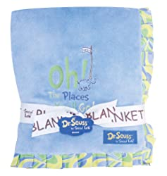 Dr. Seuss Receiving Blanket