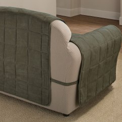 Sage Sofa Slipcovers Mixed Leather And Fabric Sofas Uk Suede Ultimate Furniture Protector Pet Dog Slip Cover