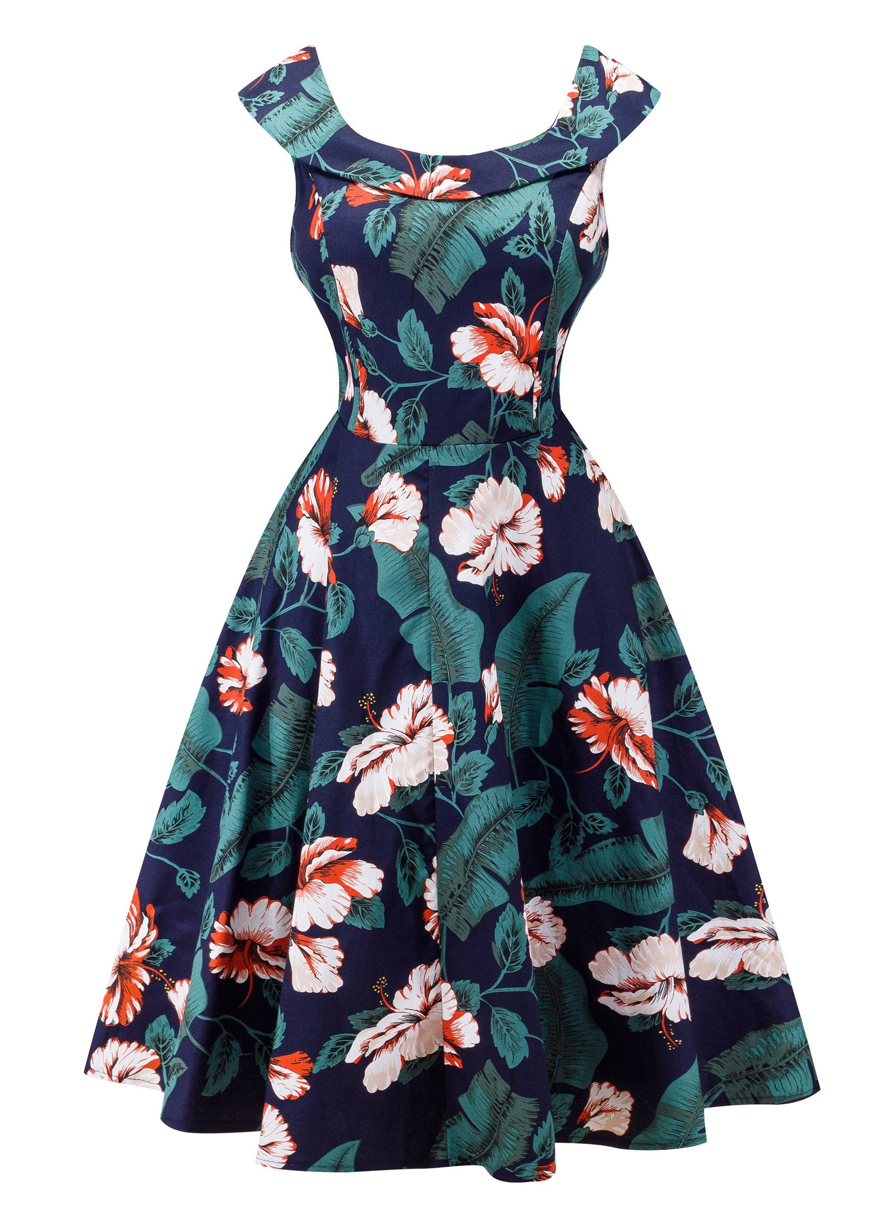 Angerella Vintage 50s Party Cocktail Dresses Sleeveless