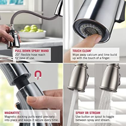 The 5 Best Kitchen Faucets in 2019 (The Best Bang For Your Buck!) 1