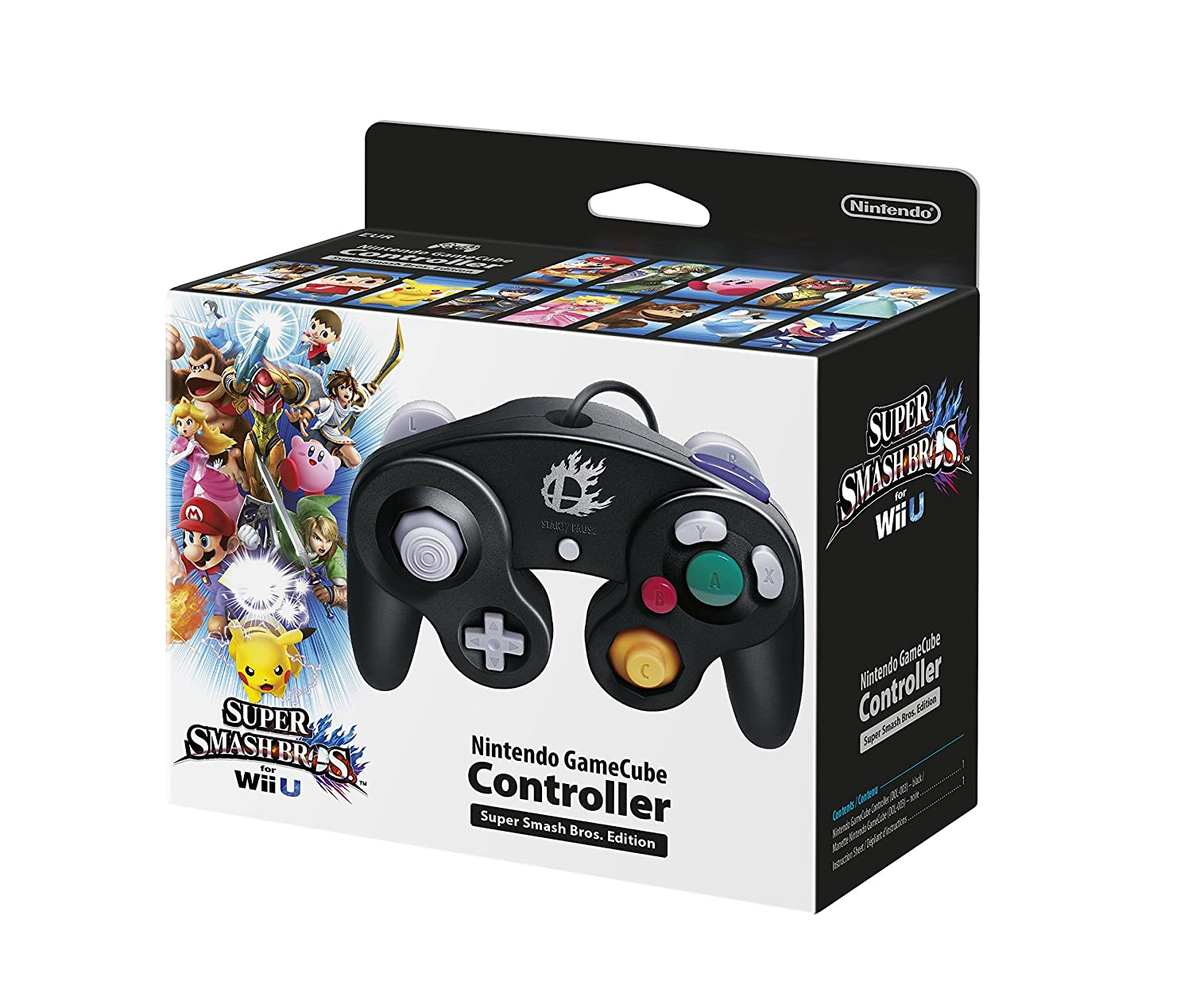 Pack Shots For Gamecube Controller Super Smash Bros
