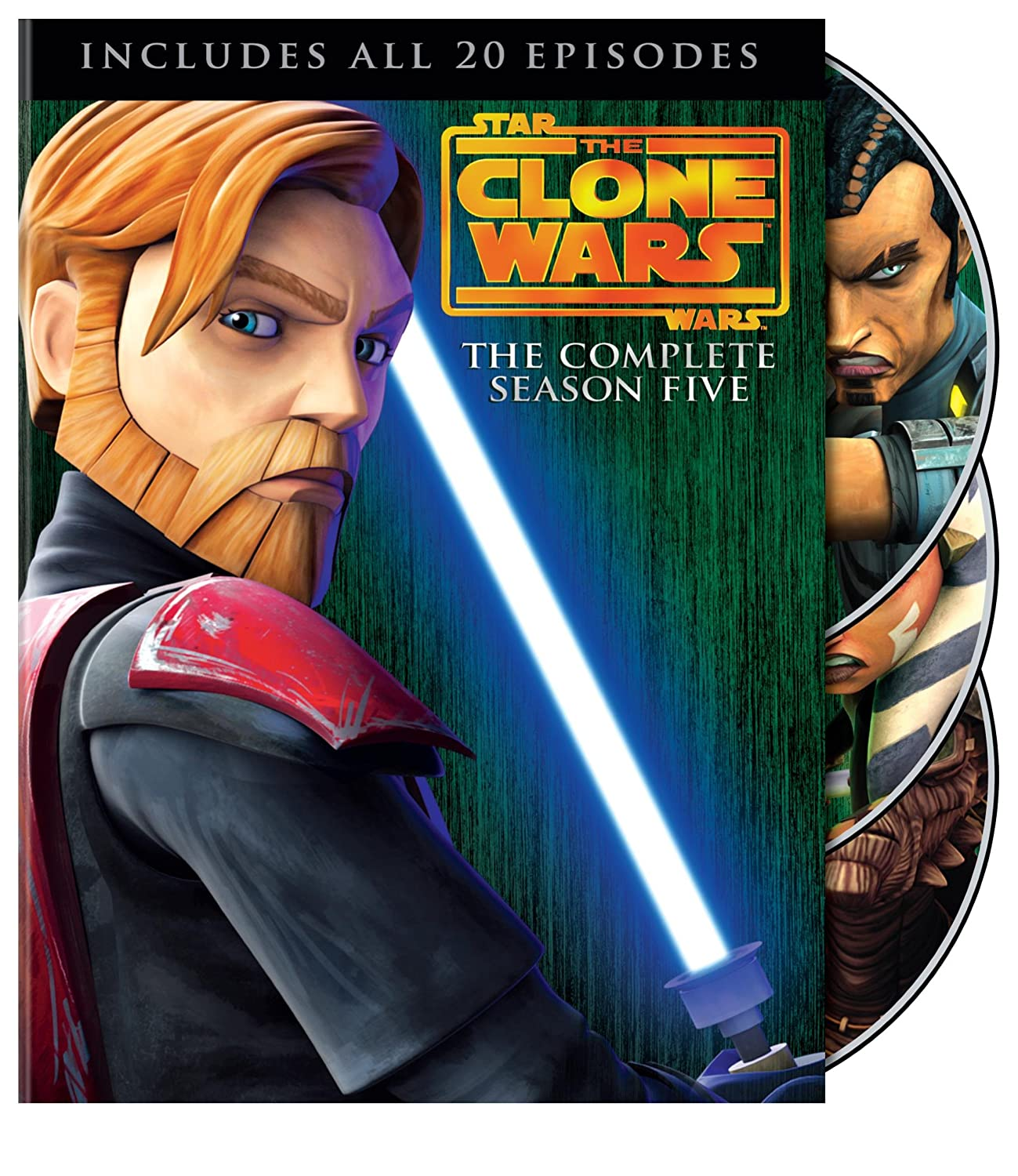 Clone Wars Season 5 Cover Art
