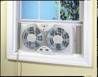 Holmes HAWF2043 Dual Blade Twin Window Fan with One Touch ...