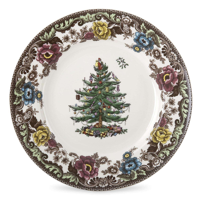 Christmas Trees Dinner Plates