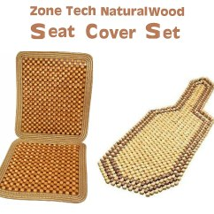 Wooden Chair Cushion Covers Egg With Stand Indoor Zone Tech Natural 2 Tone Royal Beaded Seat