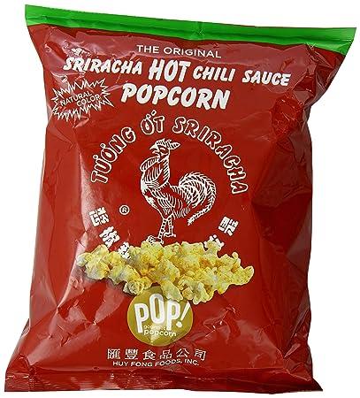 Huy Fong Sriracha Hot Chili Sauce Popcorn, 3.5 Ounce