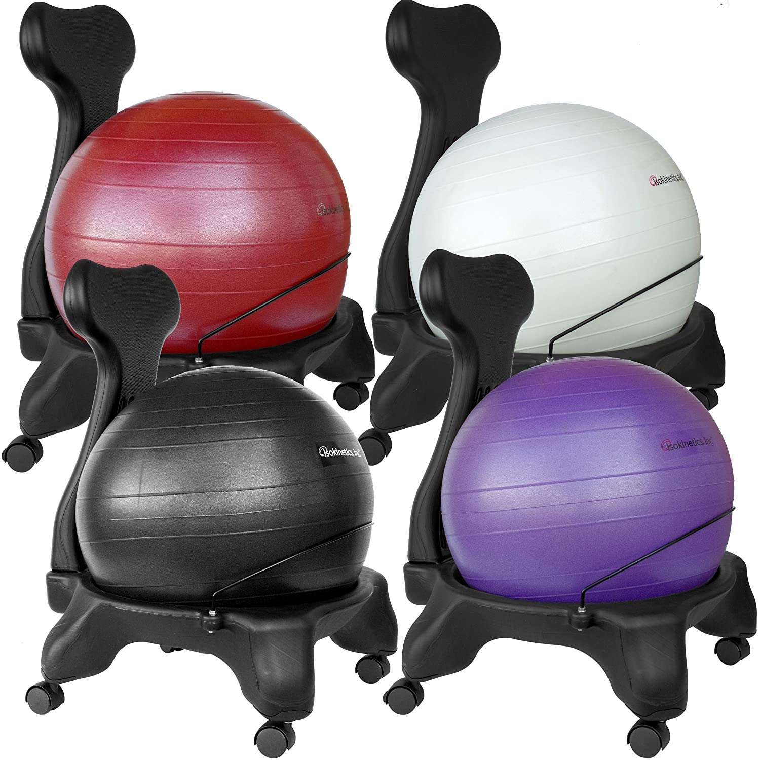 yoga ball chair exercises plastic with metal legs exercise office  fel7