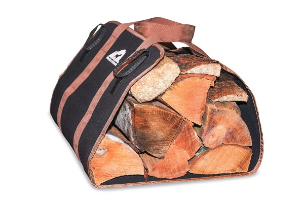 Firewood Tote Canvas Log Carrier