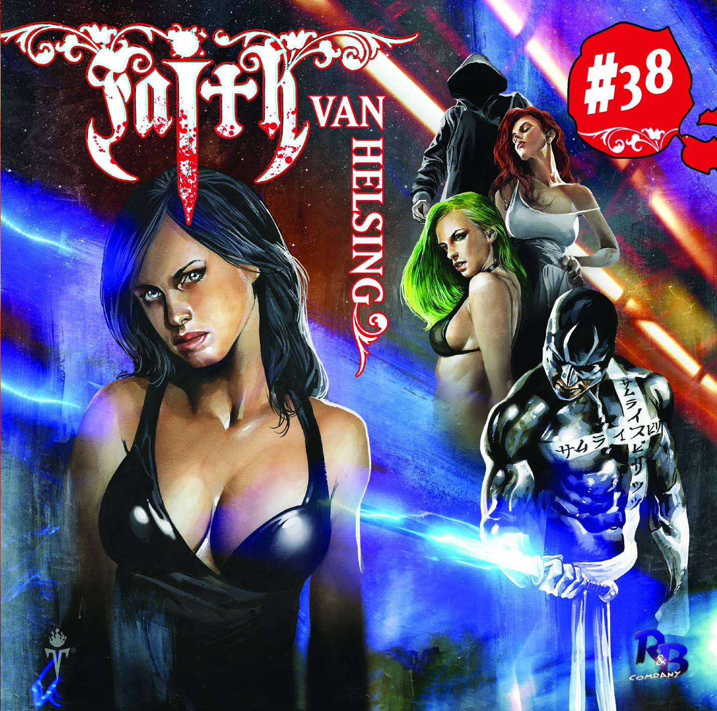 Faith van Helsing (38) Geister-Samurai: Genesis (R&B-Company)